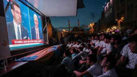 Istanbul's mayoral candidates spar on televised debate ahead of rerun vote