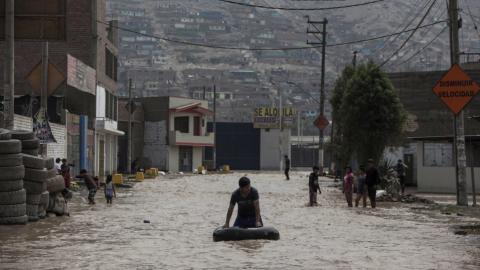 Dozens killed in torrential rains and flooding in Peru