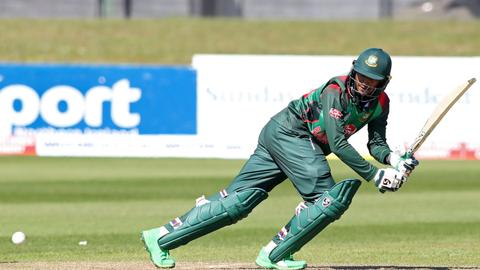 Bangladesh rises to second highest run chase in cricket World Cup history