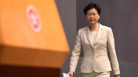Lam apologises for Hong Kong extradition crisis, refuses to quit