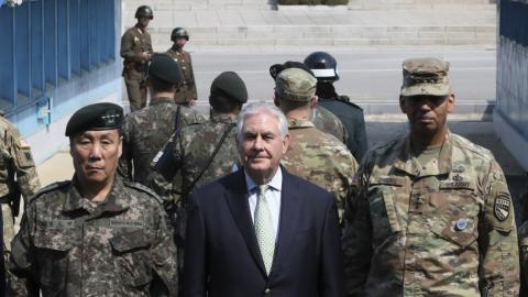 Tillerson says US strategic patience with N Korea has ended
