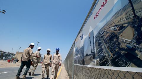 Rocket hits US oil firm in Iraq's Basra