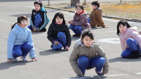 Japan holds first missile evacuation drill