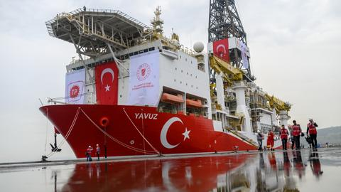 Turkey sends Yavuz vessel for oil exploration in east Mediterranean Sea