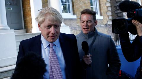 Then there were two: Boris Johnson far ahead in race to lead Britain