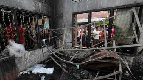 At least 30 dead in fire at matchstick factory in Indonesia