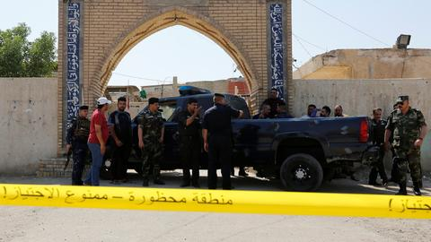Suicide attack at Baghdad mosque kills 10