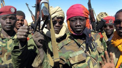 Chad rebel chief charged with crimes against humanity in Paris