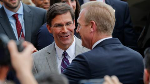 Trump nominates Mark Esper as Secretary of Defense - White House