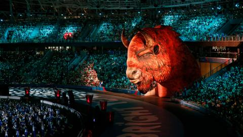 European Games open in Belarus