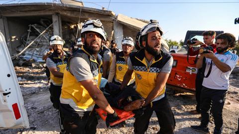 Regime air strikes kill four civilians in Syria's Idlib – monitor