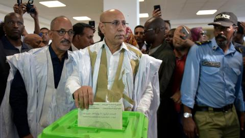 Mauritania ruling party's Ghazouani declared presidential vote winner