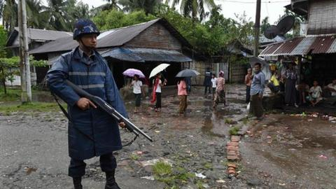 Myanmar imposes internet blockade in restive Rakhine state