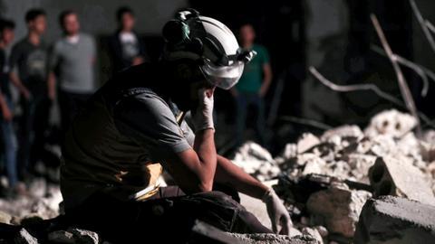 Regime 'air strikes' kill five civilians in Syria's Idlib