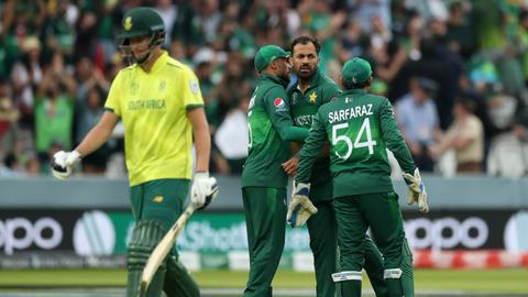 Cricket: Pakistan beat South Africa to end Proteas' World Cup dream