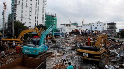 Death toll from Cambodia building collapse rises to 28