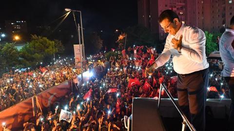 CHP candidate Imamoglu wins Istanbul rerun
