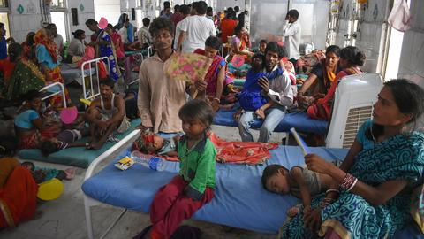 'Brain fever' death toll passes 150 in India's Bihar