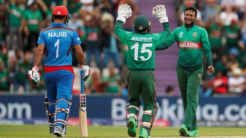 Cricket: Bangladesh beat Afghanistan after Shakib brilliance