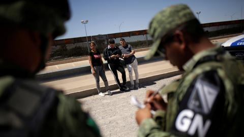 Mexico deploys 15,000 troops in the north to halt US-bound migration