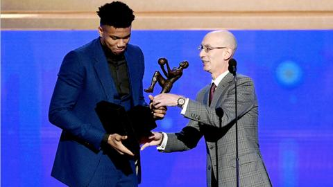 Greek basketball star Antetokounmpo named NBA's most valuable player