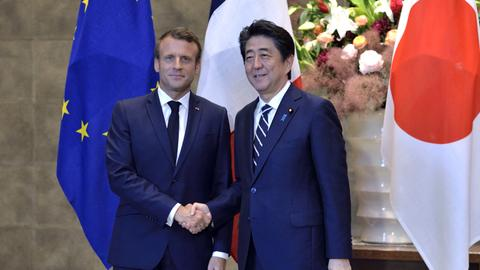 Macron calls for 'synergies, alliances' to strengthen Renault-Nissan
