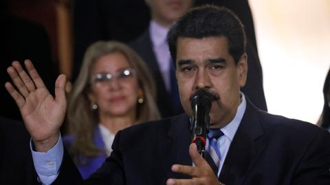 Venezuela government says it thwarted plot seeking to kill Maduro