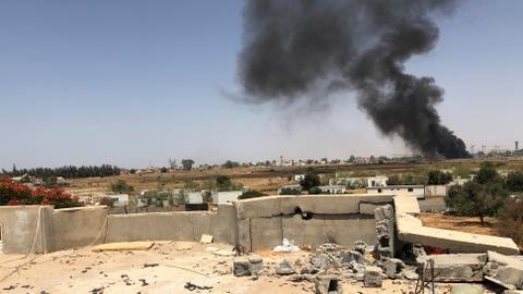 Warlord Haftar violates Libyan ceasefire with air strikes near Tripoli