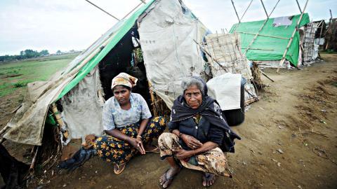 Rohingya remain on lockdown in Aung Mingalar