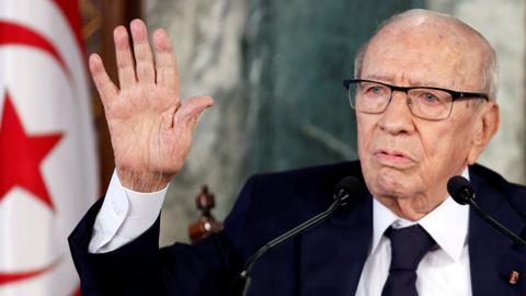 Who was Tunisia's late President Beji Caid Essebsi?