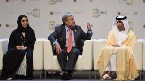 UN chief urges action to avert climate change 'catastrophe'