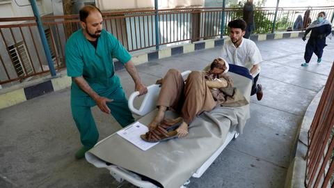 Taliban bombing in Afghan capital kills at least six people