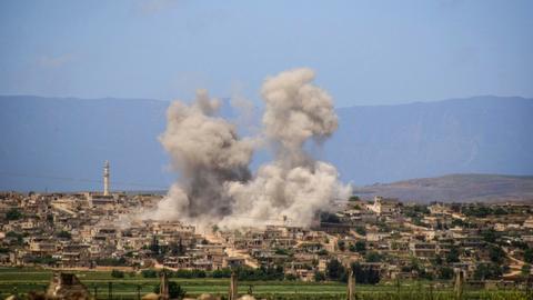 US targets al Qaeda-linked group in northern Syria