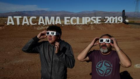 Chile, Argentina ready for total eclipse of the Sun