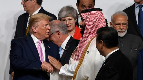 G20 shows Crown Prince Mohammed bin Salman has more lives than a cat