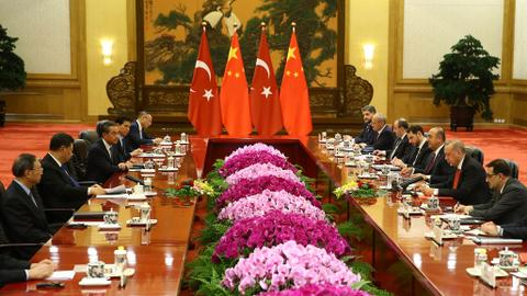 Turkey and China ties to support global stability - President Erdogan