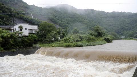 Hit by torrential rains, Japan orders 800,000 to evacuate