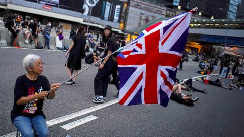 China tells Britain to keep its 'colonial' hands off Hong Kong