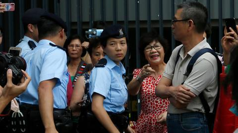 Arrests in Hong Kong raise fears of more violent protests