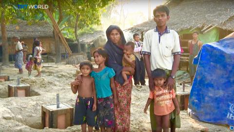 Rohingya returning to abandoned villages in restive Myanmar state