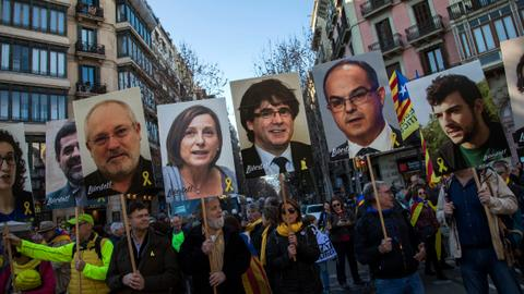 ​Catalans await verdict in trial of separatist leaders