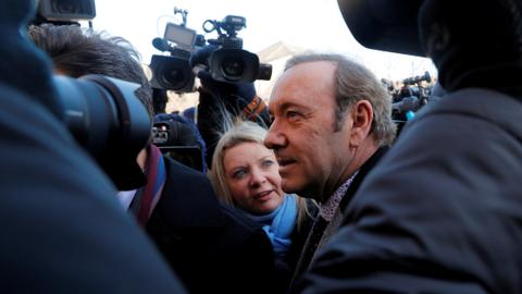 Actor Kevin Spacey's alleged sex assault victim drops lawsuit