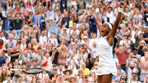 Teenager Gauff digs deep to continue dream run at Wimbledon