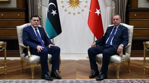 President Erdogan upholds support for Libya's Tripoli government