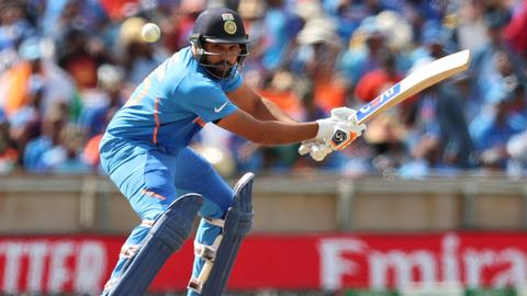 Cricket: Sharma hits record fifth World Cup ton as India humble Sri Lanka
