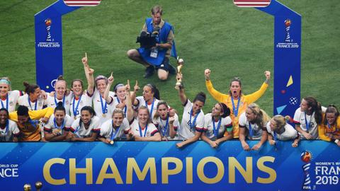 Football: Rapinoe, Lavelle score as USA beat Netherlands to retain WC title