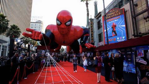 'Spider-Man: Far From Home' Debuts With Heroic $185 Million
