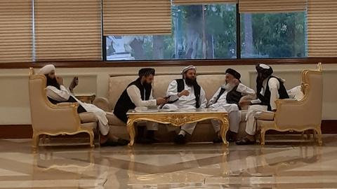 Taliban, Afghans end talks with 'promise to reduce violence'