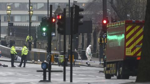 British police arrest eight after London attack