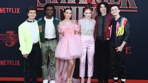 'Stranger Things' breaks Netflix viewing records